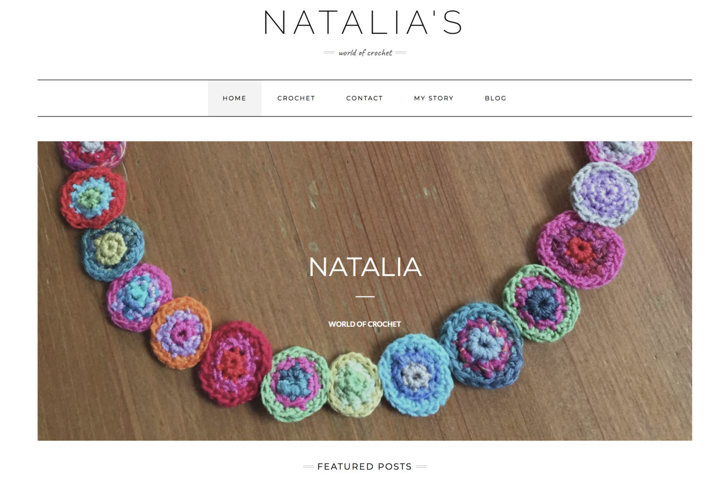 Natalia's - world of crochet